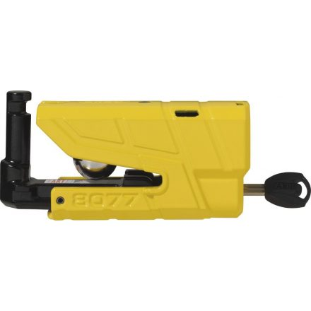 ABUS Féktárcsazár Granit Detecto X-Plus 8077 (riasztós) - sárga