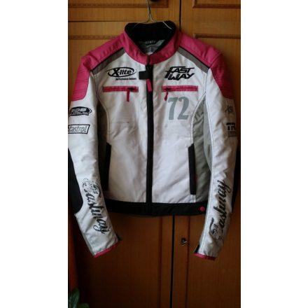 Női motoros cordura kabát (S)