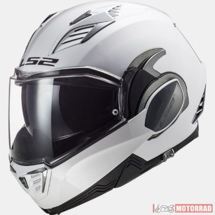 LS2 FF900 VALIANT II SOLID WHITE